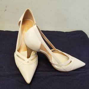 100% Authentic Sergio Rossi cream heels
